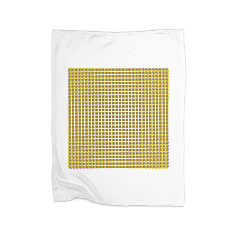 Moire 2 Home Blanket by Puttyhead's Artist Shop