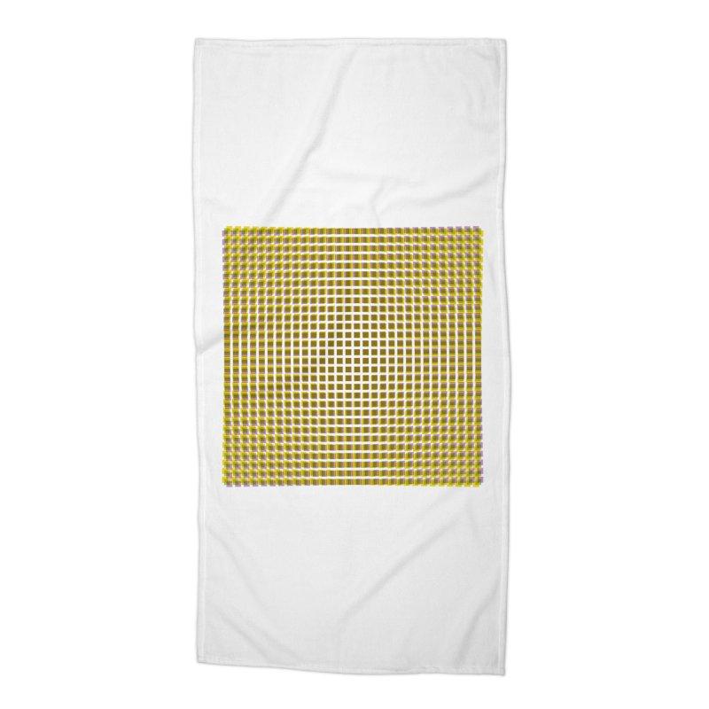 Moire 2 Accessories Beach Towel by Puttyhead's Artist Shop