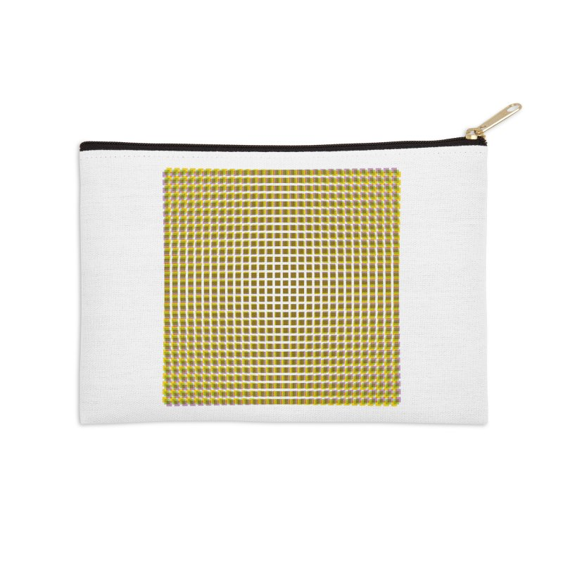 Moire 2 Accessories Zip Pouch by Puttyhead's Artist Shop