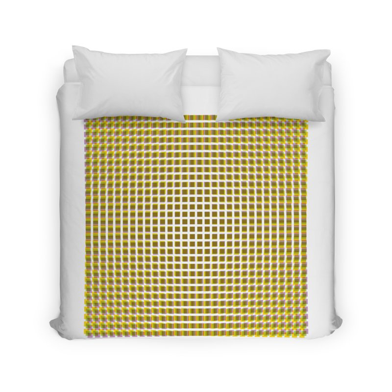 Moire 2 Home Duvet by Puttyhead's Artist Shop