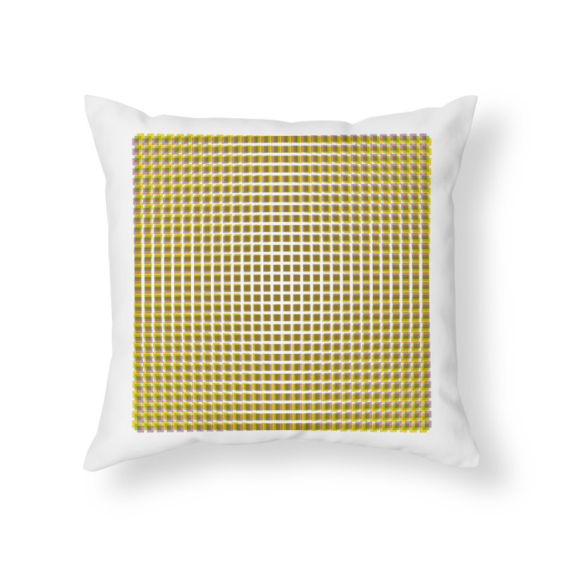 Moire 2 Home Throw Pillow by Puttyhead's Artist Shop