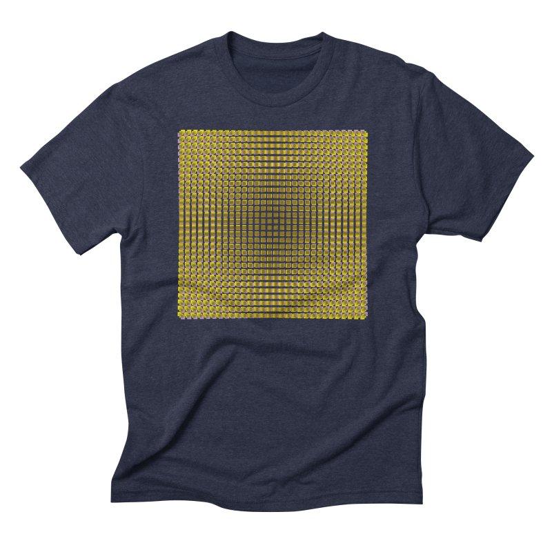 Moire 2 Men's Triblend T-Shirt by Puttyhead's Artist Shop