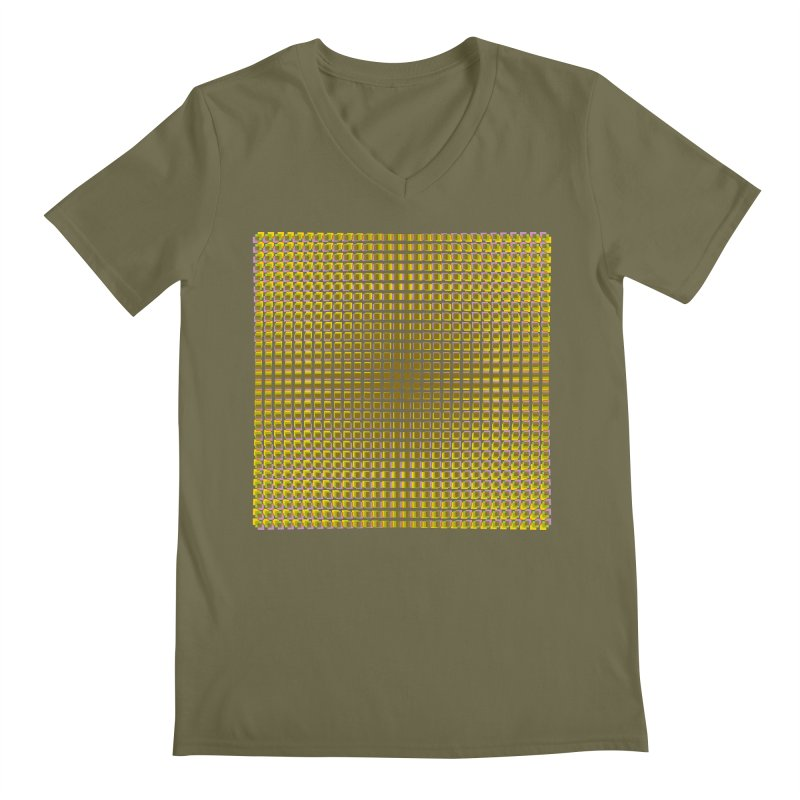 Moire 2 Men's V-Neck by Puttyhead's Artist Shop