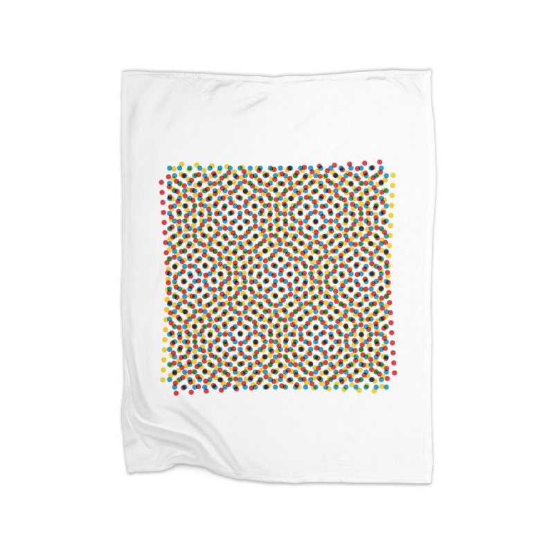Moire 3 Home Blanket by Puttyhead's Artist Shop