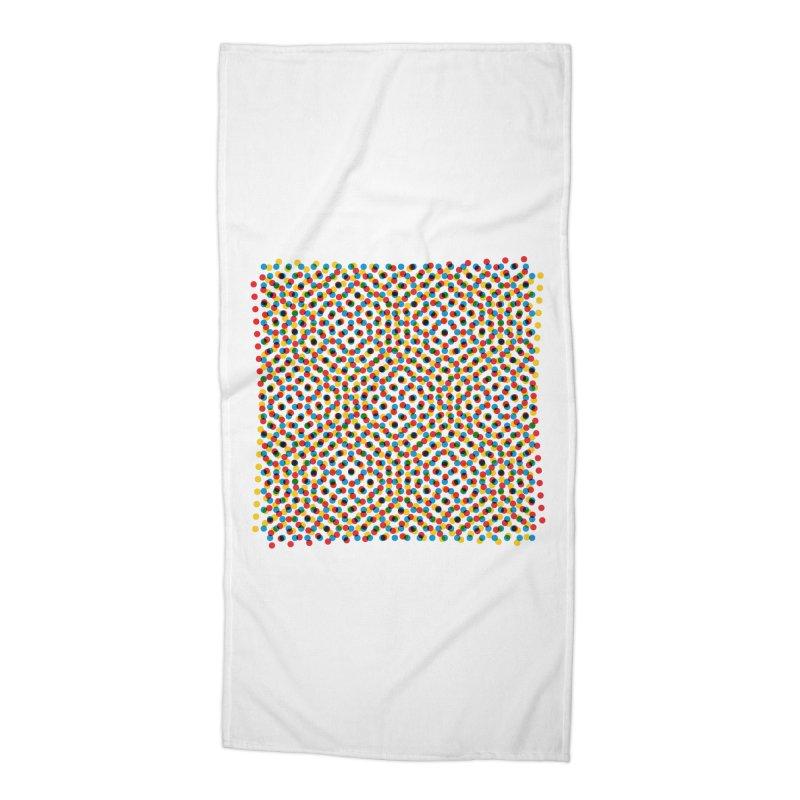 Moire 3 Accessories Beach Towel by Puttyhead's Artist Shop