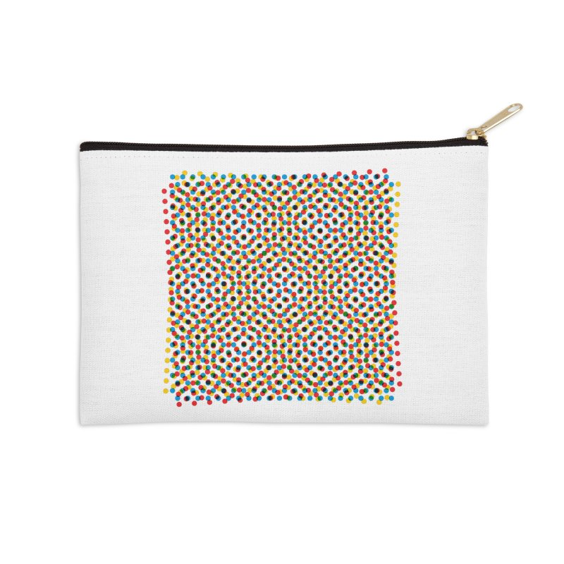 Moire 3 Accessories Zip Pouch by Puttyhead's Artist Shop