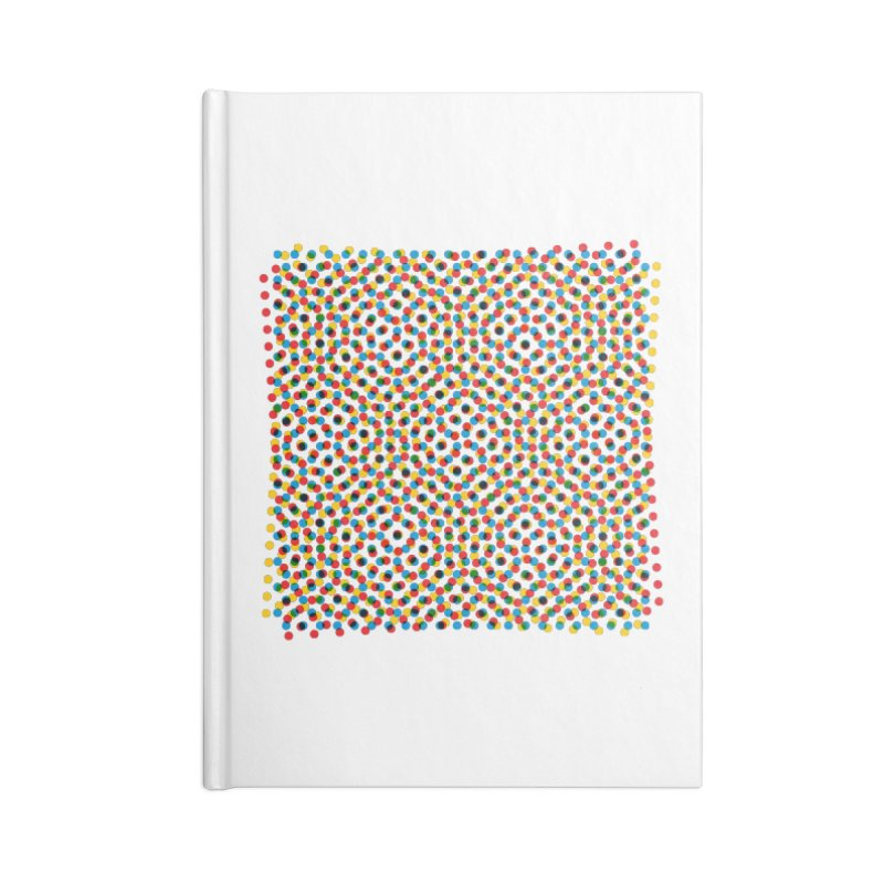 Moire 3 Accessories Notebook by Puttyhead's Artist Shop