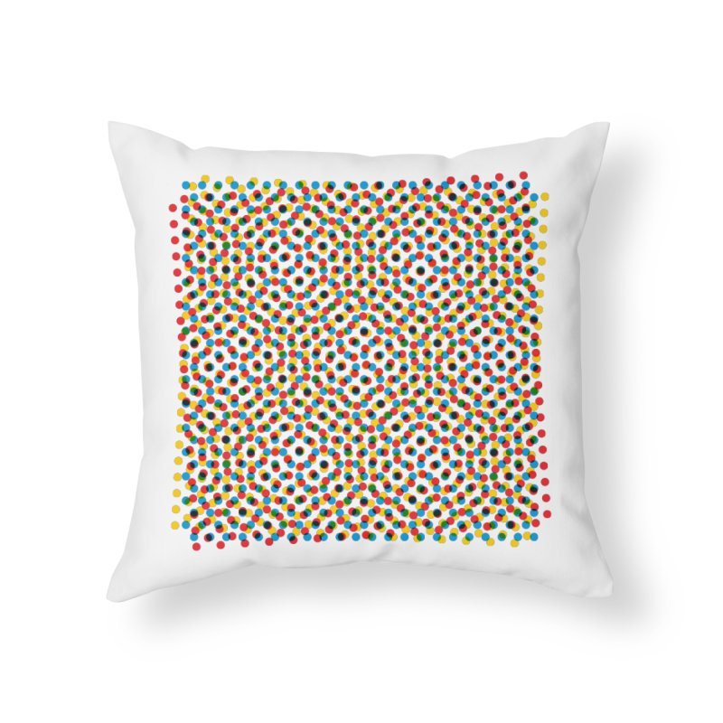 Moire 3 Home Throw Pillow by Puttyhead's Artist Shop