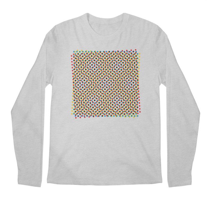 Moire 3 Men's Longsleeve T-Shirt by Puttyhead's Artist Shop
