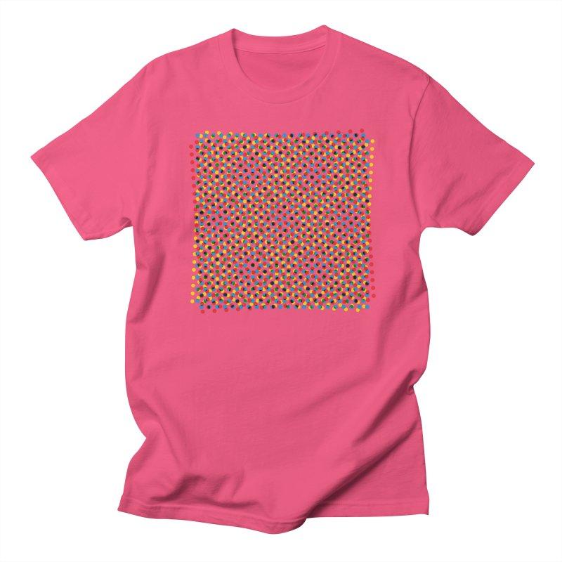 Moire 3 Men's T-Shirt by Puttyhead's Artist Shop