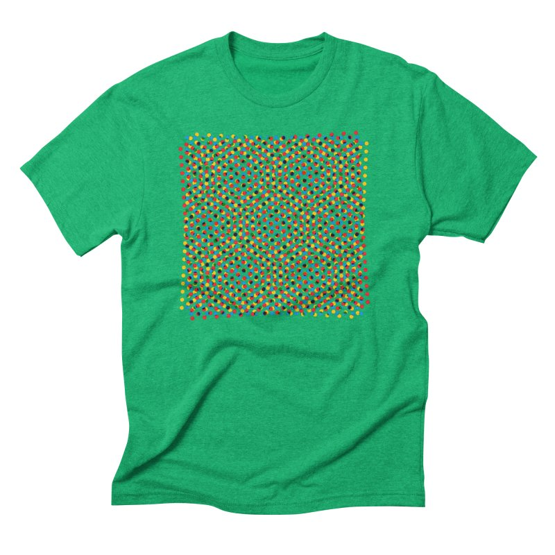 Moire 3 Men's Triblend T-Shirt by Puttyhead's Artist Shop
