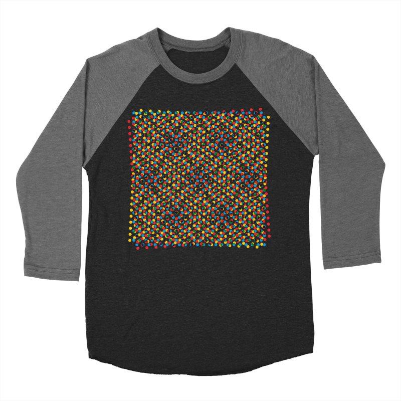 Moire 3 Men's Baseball Triblend T-Shirt by Puttyhead's Artist Shop