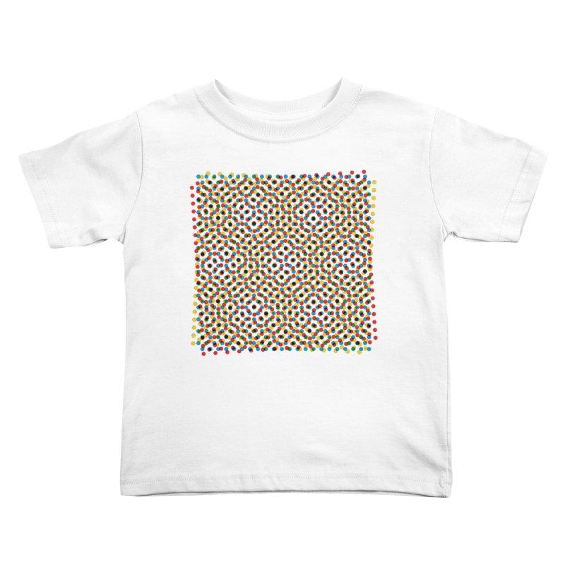 Moire 3 Kids Toddler T-Shirt by Puttyhead's Artist Shop