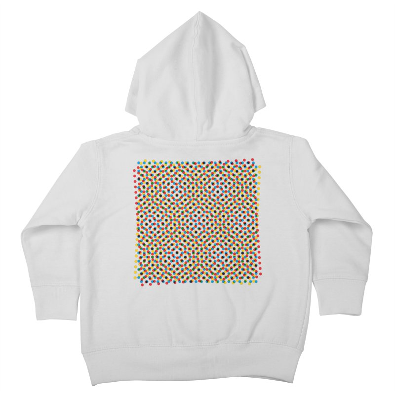 Moire 3 Kids Toddler Zip-Up Hoody by Puttyhead's Artist Shop