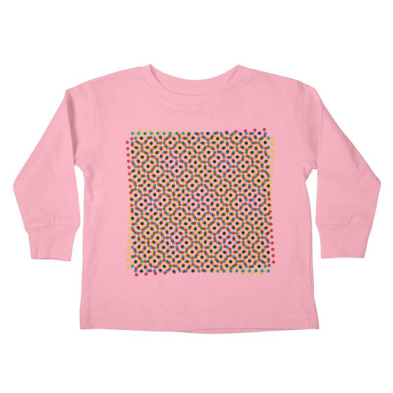 Moire 3 Kids Toddler Longsleeve T-Shirt by Puttyhead's Artist Shop