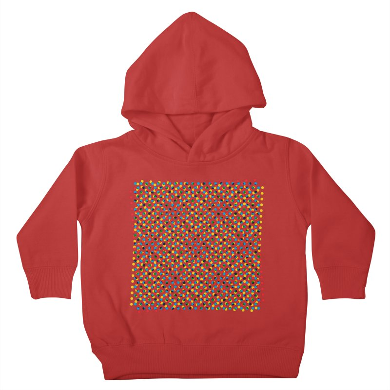 Moire 3 Kids Toddler Pullover Hoody by Puttyhead's Artist Shop