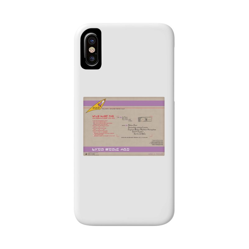 Priority Intergalactic Post Box Accessories Phone Case by Puttyhead's Artist Shop