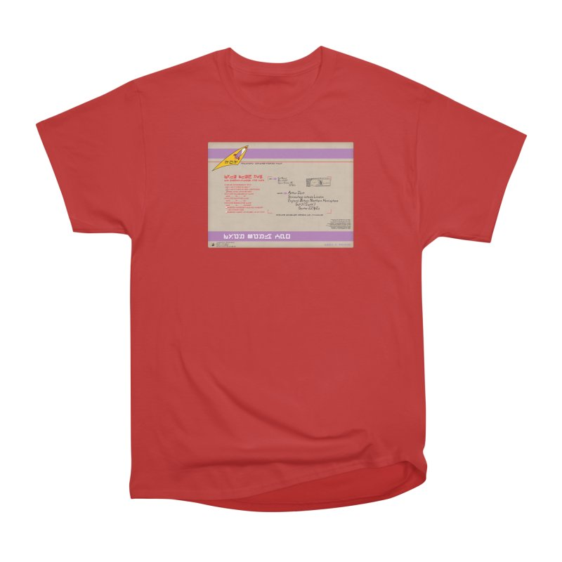 Priority Intergalactic Post Box Men's Classic T-Shirt by Puttyhead's Artist Shop