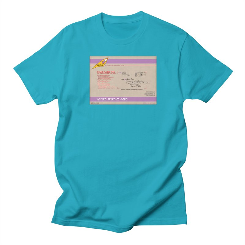 Priority Intergalactic Post Box Men's T-Shirt by Puttyhead's Artist Shop
