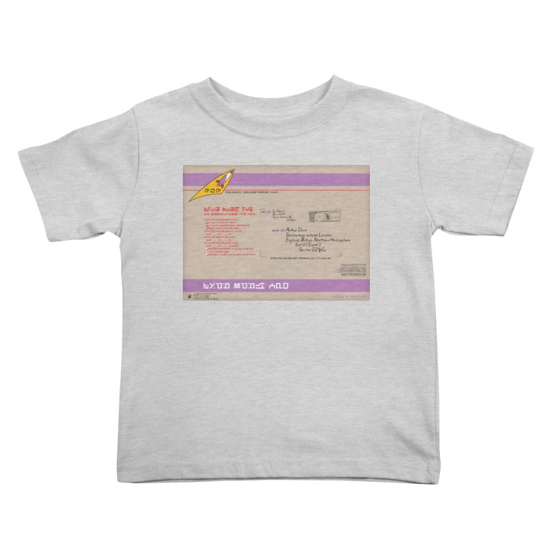 Priority Intergalactic Post Box Kids Toddler T-Shirt by Puttyhead's Artist Shop