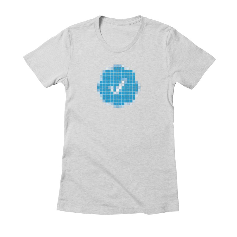 Verified Women's Fitted T-Shirt by Puttyhead's Artist Shop