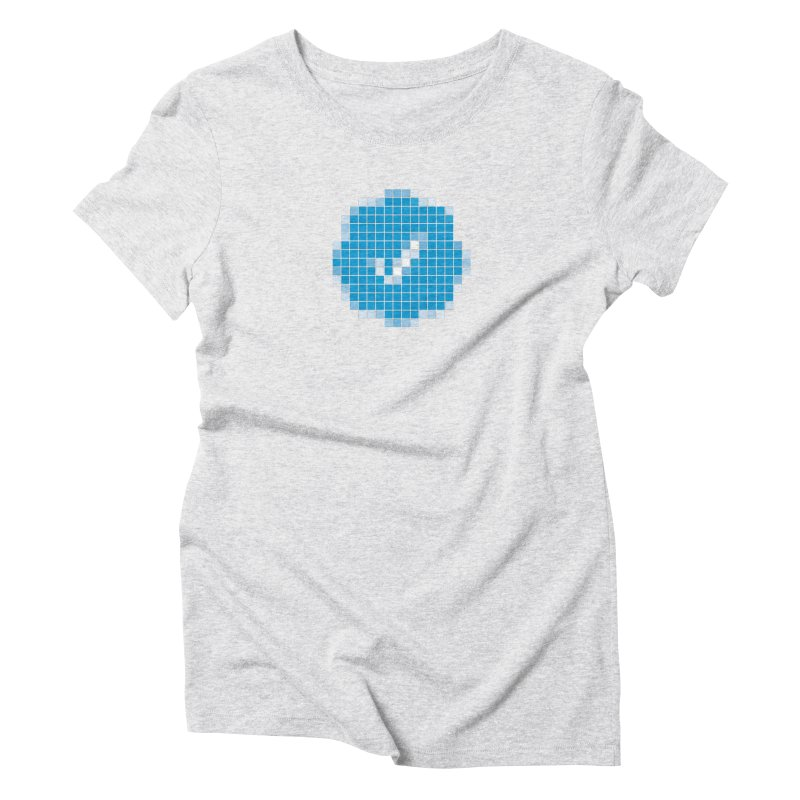 Verified Women's Triblend T-Shirt by Puttyhead's Artist Shop