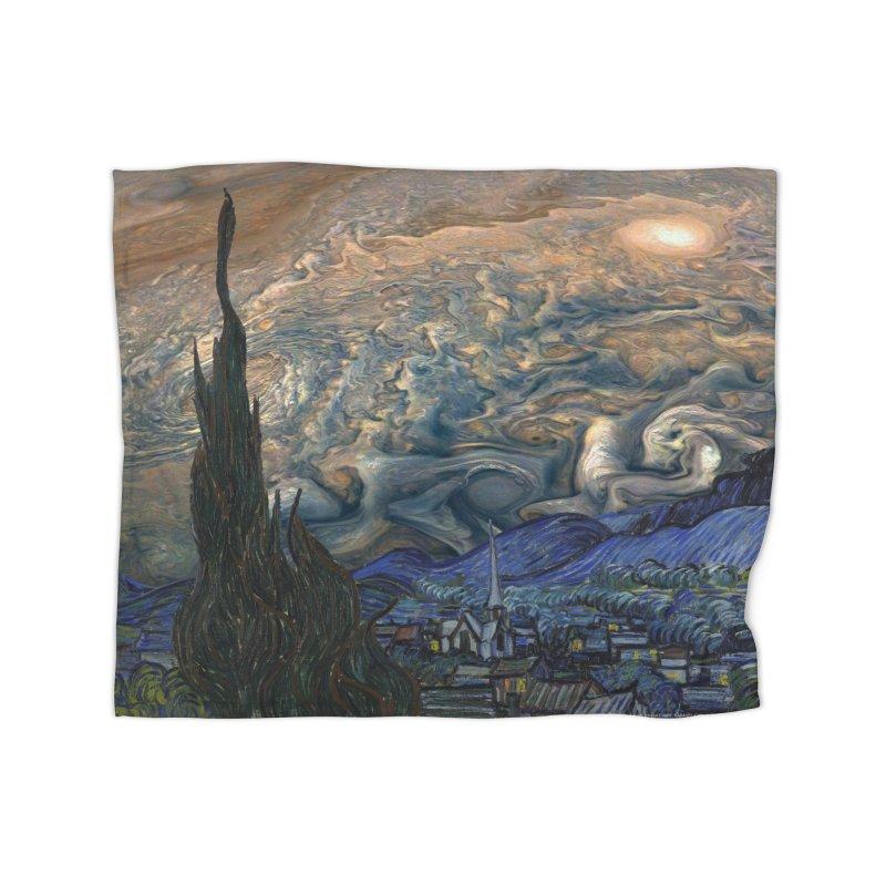 Jupiter Night Home Blanket by Puttyhead's Artist Shop