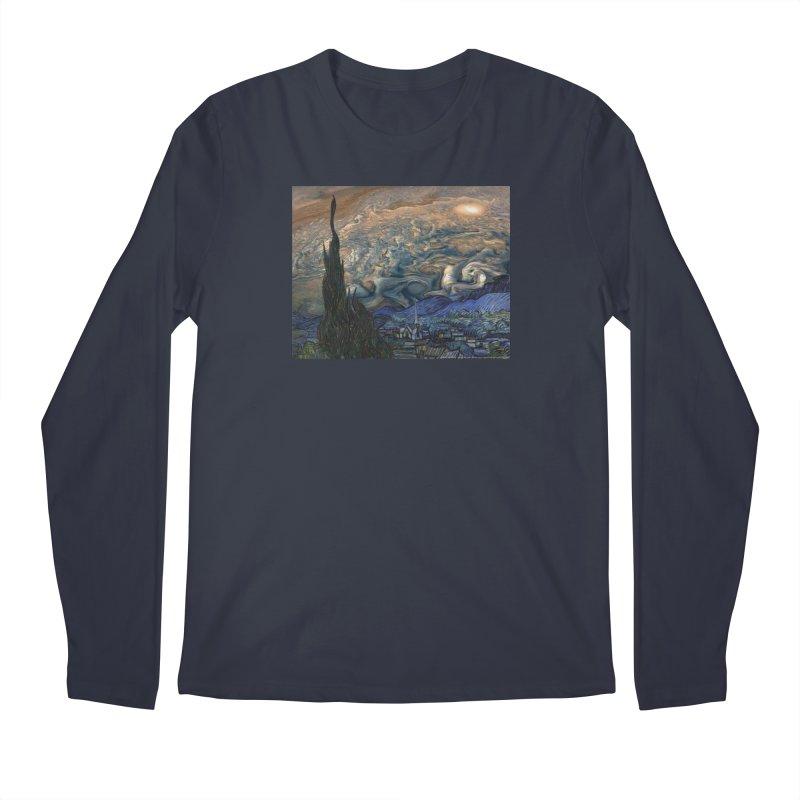 Jupiter Night Men's Longsleeve T-Shirt by Puttyhead's Artist Shop