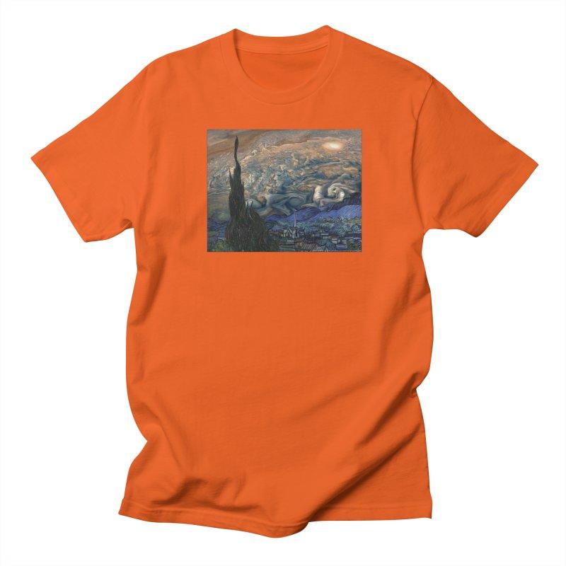 Jupiter Night Men's T-Shirt by Puttyhead's Artist Shop