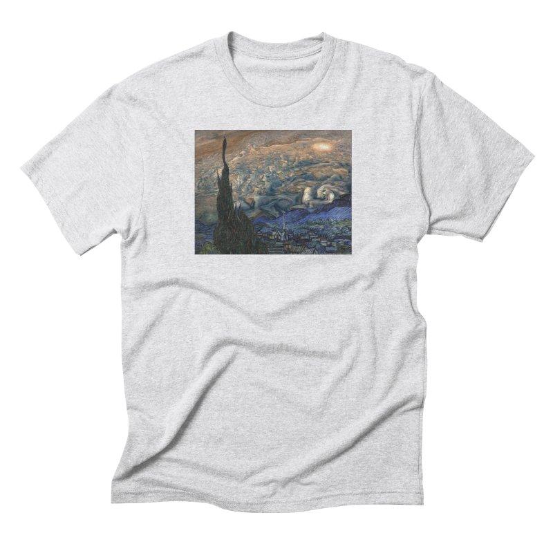 Jupiter Night Men's Triblend T-Shirt by Puttyhead's Artist Shop