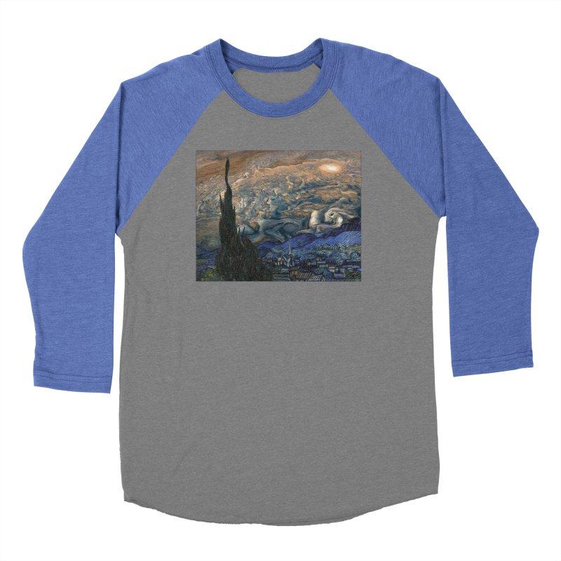 Jupiter Night Women's Baseball Triblend T-Shirt by Puttyhead's Artist Shop