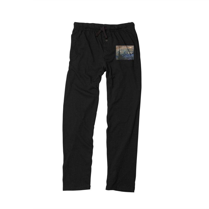 Jupiter Night Men's Lounge Pants by Puttyhead's Artist Shop