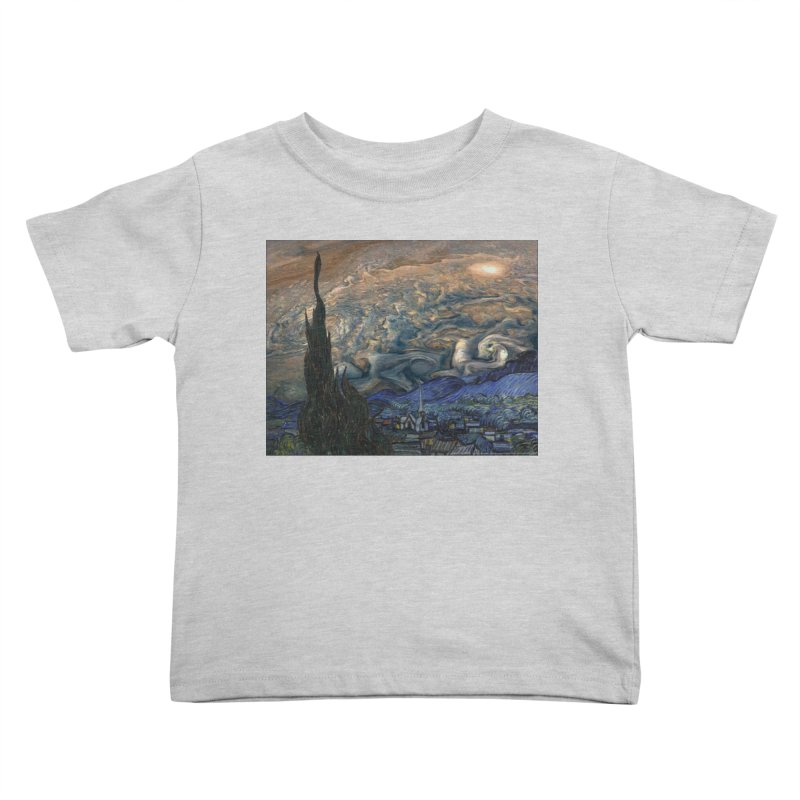 Jupiter Night Kids Toddler T-Shirt by Puttyhead's Artist Shop
