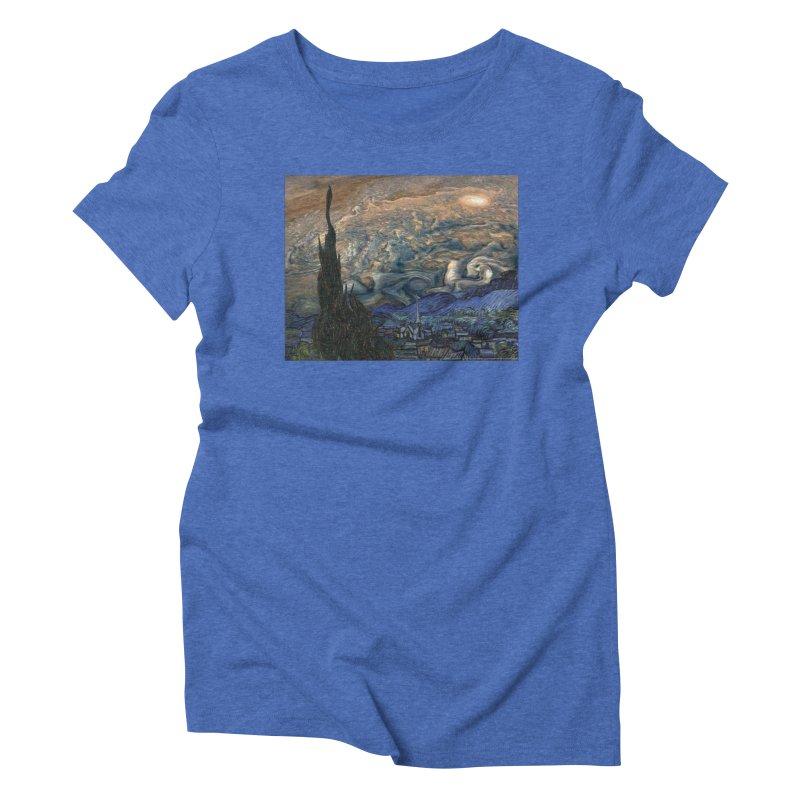 Jupiter Night Women's Triblend T-Shirt by Puttyhead's Artist Shop