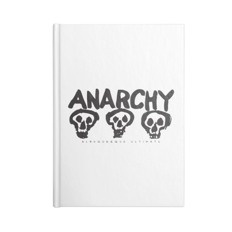 Anarchy Ultimate Accessories Notebook by Puttyhead's Artist Shop