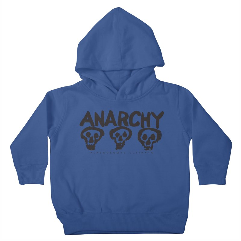 Anarchy Ultimate Kids Toddler Pullover Hoody by Puttyhead's Artist Shop