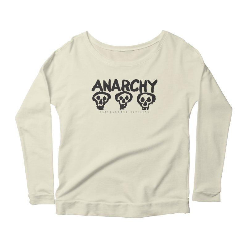 Anarchy Ultimate Women's Longsleeve Scoopneck  by Puttyhead's Artist Shop