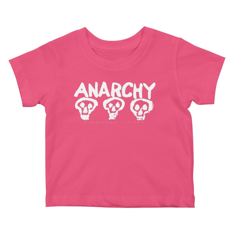Anarchy Ultimate (White) Kids Baby T-Shirt by Puttyhead's Artist Shop