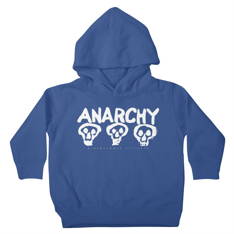 Anarchy Ultimate (White) Kids Toddler Pullover Hoody by Puttyhead's Artist Shop