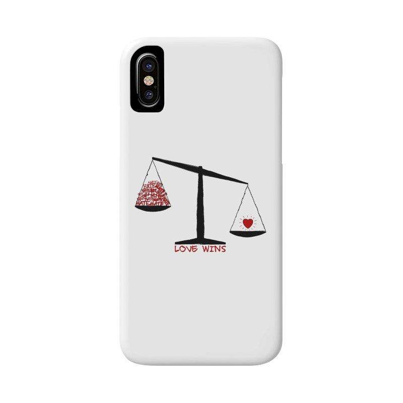 Love Wins Accessories Phone Case by Puttyhead's Artist Shop