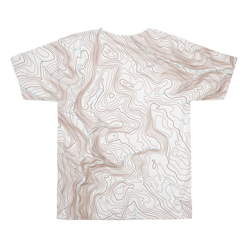 Topo T Men's All Over Print by Puttyhead's Artist Shop