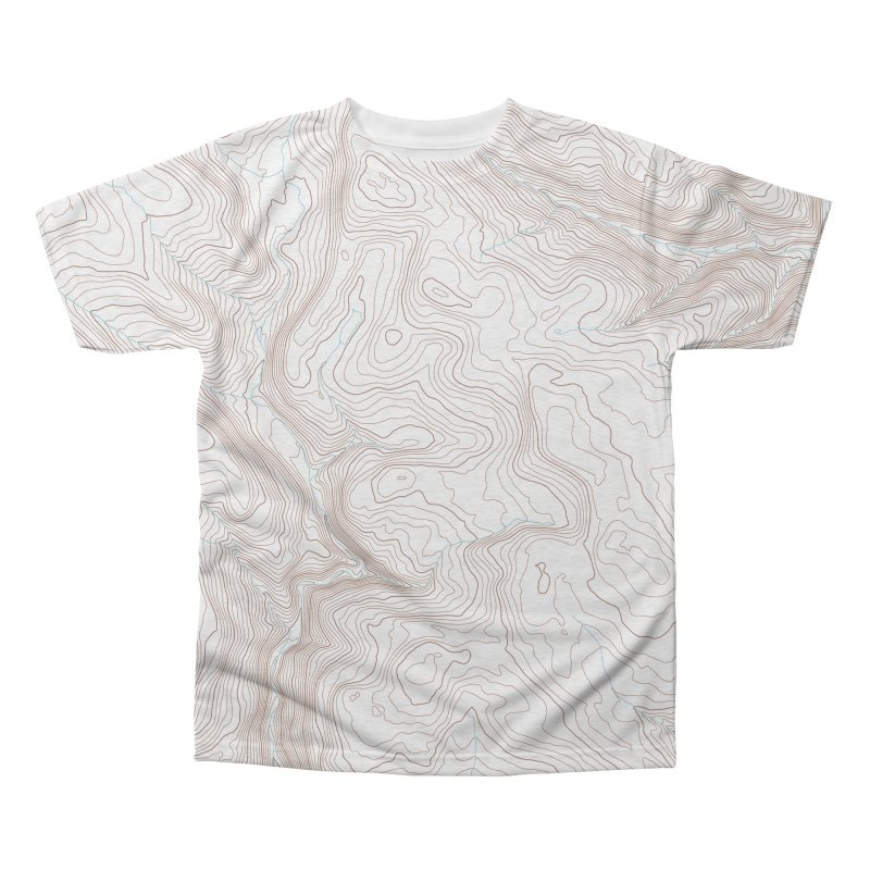 Topo T Men's Triblend All Over Print by Puttyhead's Artist Shop