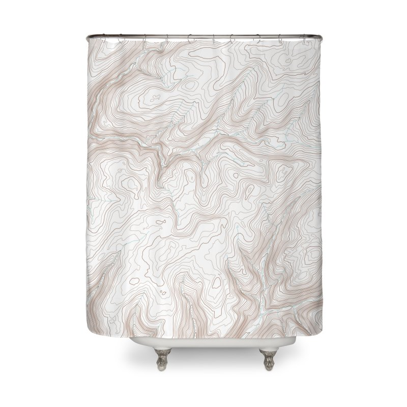 Topo T Home Shower Curtain by Puttyhead's Artist Shop