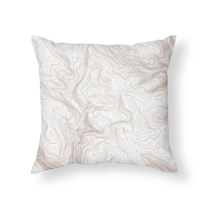 Topo T Home Throw Pillow by Puttyhead's Artist Shop