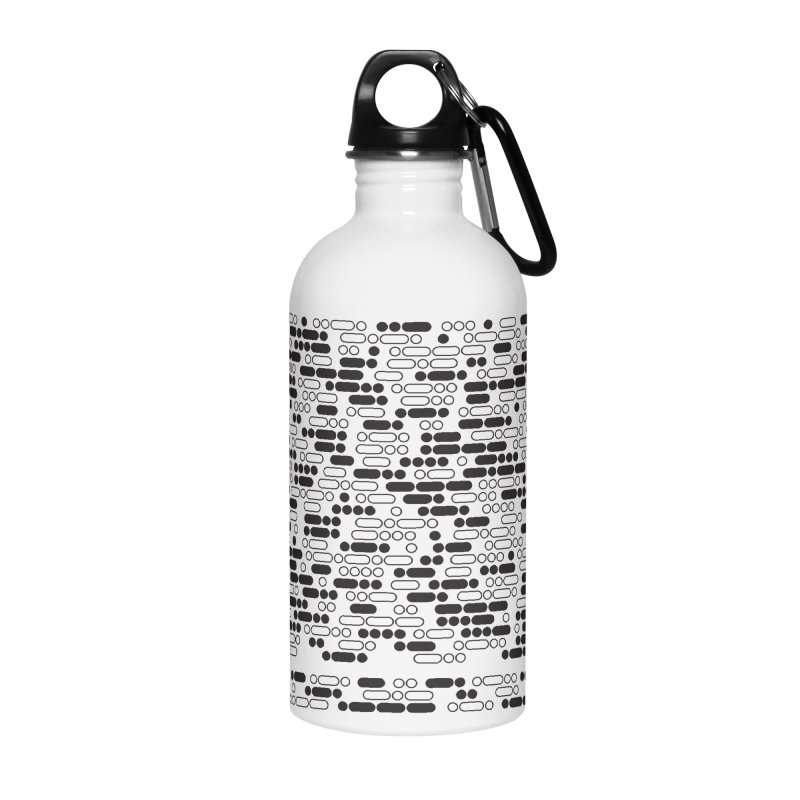 Peace Morse Accessories Water Bottle by Puttyhead's Artist Shop