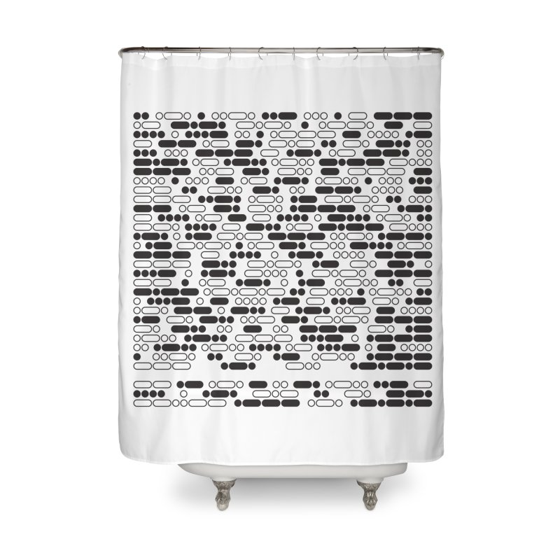 Peace Morse Home Shower Curtain by Puttyhead's Artist Shop