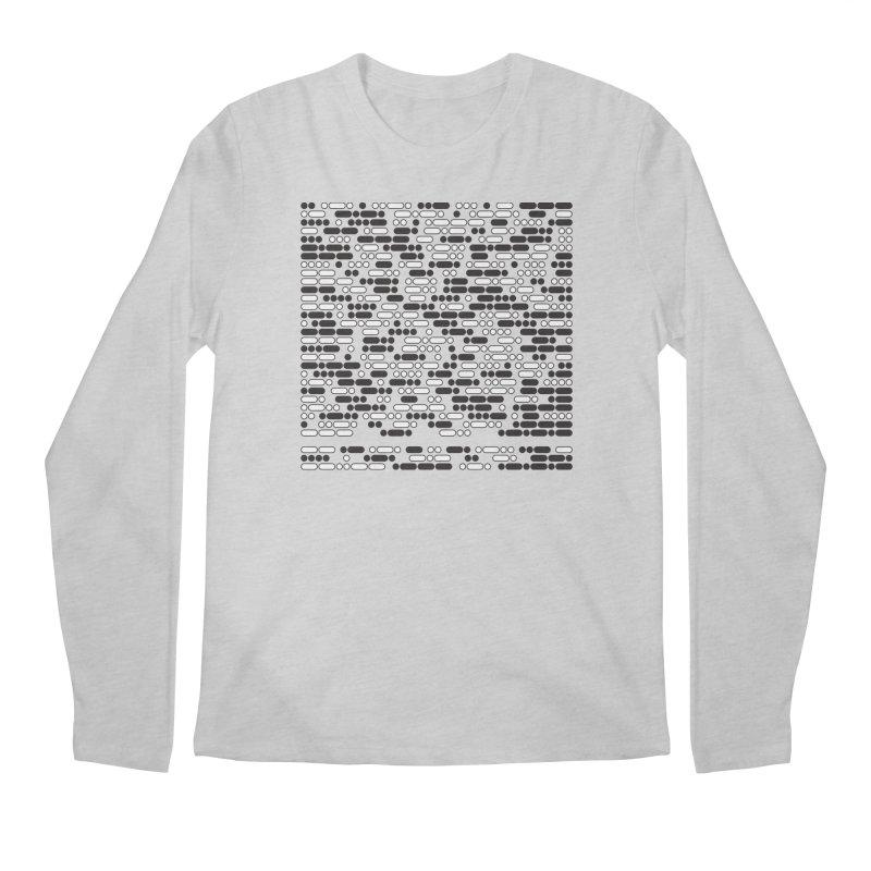 Peace Morse Men's Longsleeve T-Shirt by Puttyhead's Artist Shop