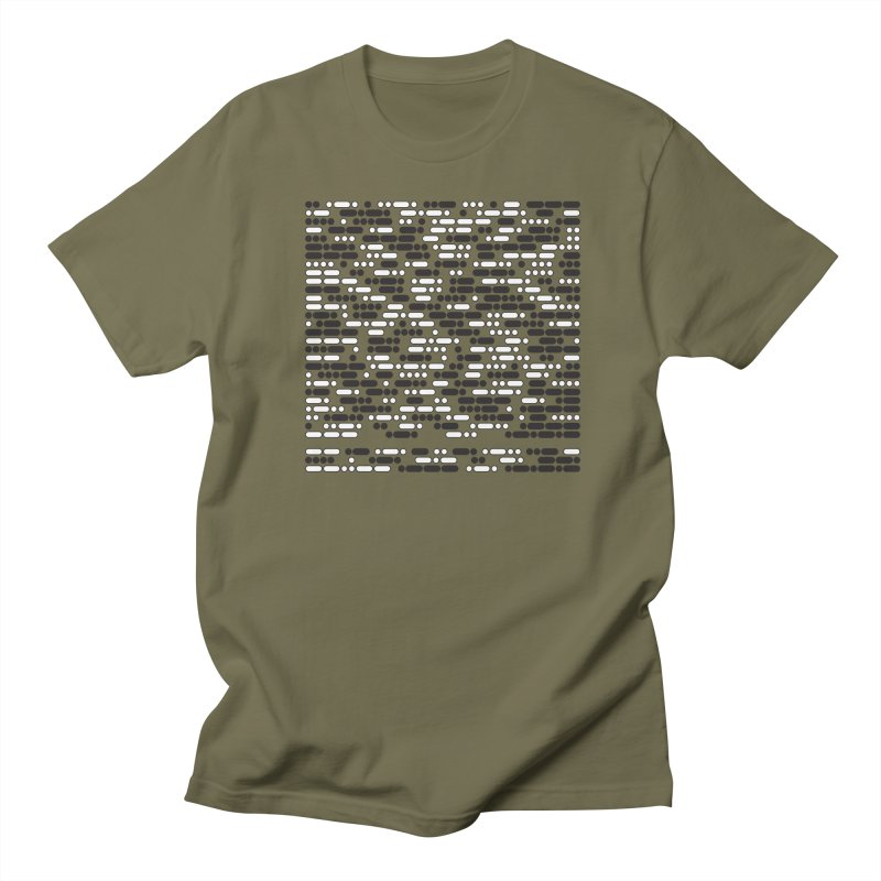 Peace Morse Men's T-Shirt by Puttyhead's Artist Shop