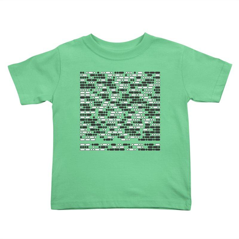 Peace Morse Kids Toddler T-Shirt by Puttyhead's Artist Shop