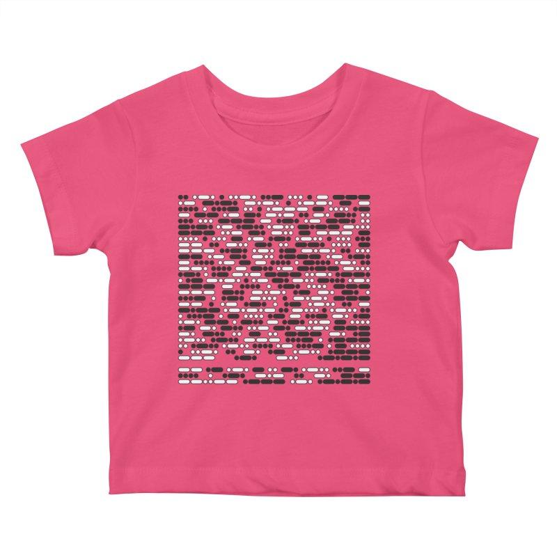 Peace Morse Kids Baby T-Shirt by Puttyhead's Artist Shop